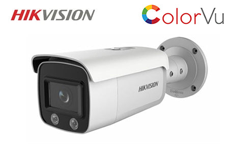 DS-2CD2T47G1-L2 (2.8mm)  HIKVISION 4MP ColorVu Network Bullet Camera