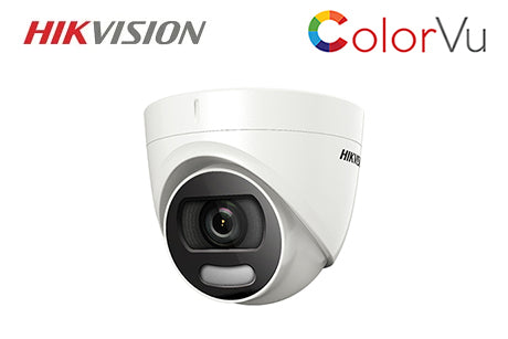 DS-2CE72HFT-F28  Hikvision TVI 5MP ColorVu Turret Camera