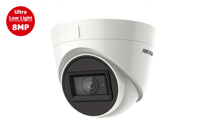 DS-2CE78U7T-IT3F    Hikvision TVI4.0 8MP Outdoor IR Turret Camera 2.8mm