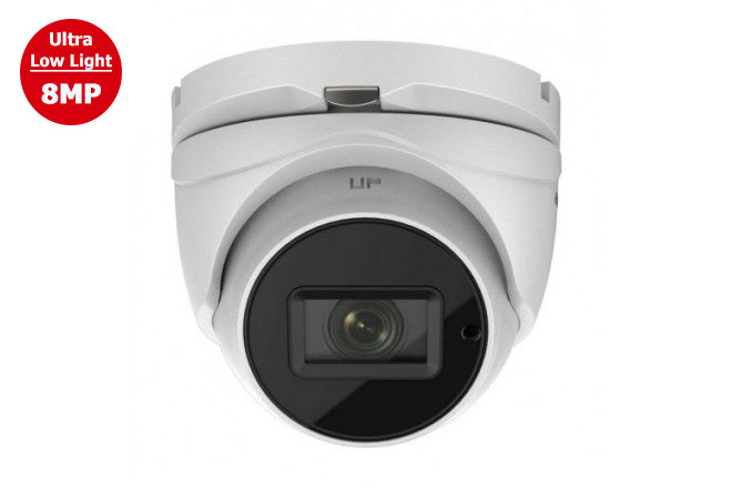 DS-2CE79U7T-AIT3ZF    Hikvision TVI  8MP Ultra Low Light MTZ IR Turret Camera 2.7~13.5mm