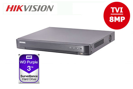 DS-7208HTHI-K2-3TB   8MP TVI 8CH DVR