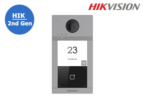 DS-KV8113-WME1-SM HIKVISION 2nd Gen IP Intercom, Surface Mount