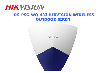 DS-PSG-WO-433 Hikvision Wireless Outdoor Siren