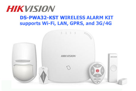 DS-PWA32-KST Hikvision AX Series Wireless Security Control Panel Kit with 3G/4G