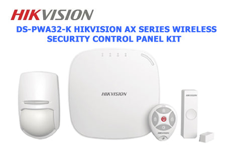 DS-PWA32-K Hikvision AX Series Wireless Security Control Panel Kit