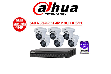 DAHUA SMD/Starlight 4MP 8CH Kit-11