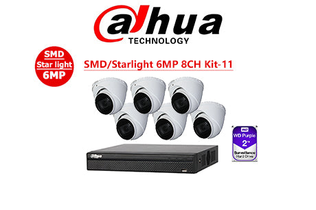 DAHUA SMD/Starlight 6MP 8CH Kit-14