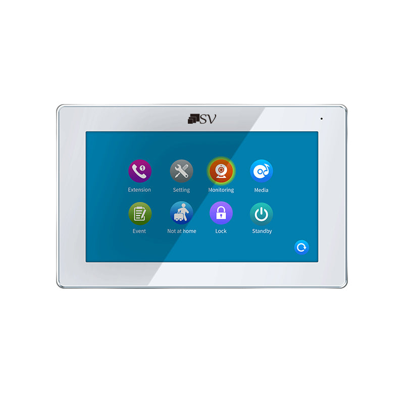 I-HDM841MW  2MP HD Touch Screen Intercom Monitor