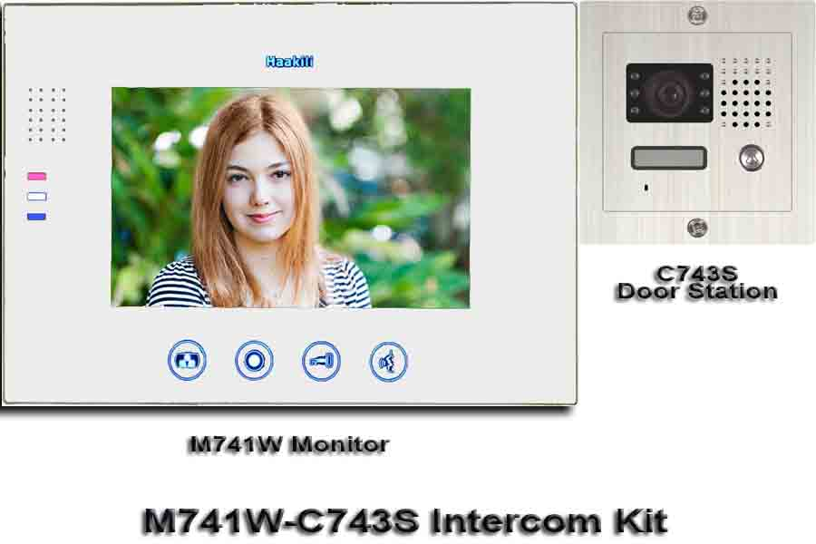 M741W-C743S Intercom Kit