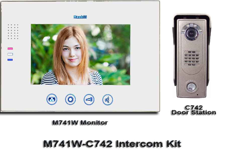 M741W-C742 Intercom Kit