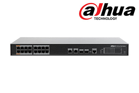 DH-PFS4218-16ET-190 Dahua 16Port POE Switch (unmanaged)