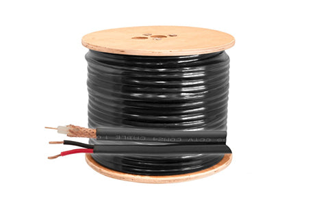 AC-Y8060-100m Coax/Fig8 Combo 100m Roll