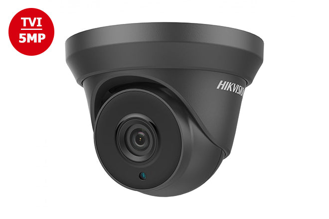 DS-2CE56H5T-IT3-BLK    Hikvision TVI4.0 5MP Outdoor IR Black Turret Camera 2.8mm