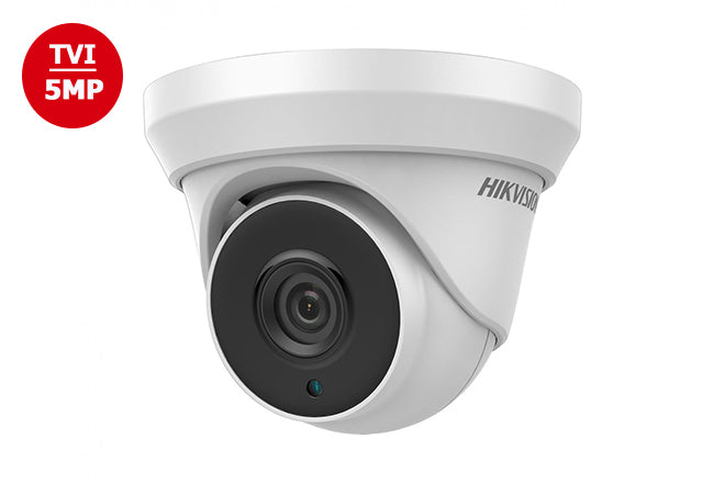 DS-2CE56H5T-IT3    Hikvision TVI4.0 5MP Outdoor IR Turret Camera 2.8mm