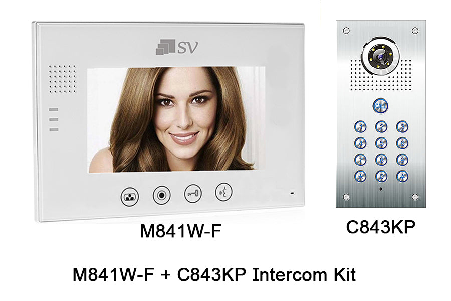 I-M841W + C843KP Intercom Kit
