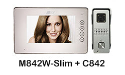 I-M841W-Slim + C842 Slim monitor intercom kit