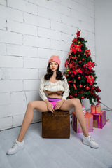 Elisa: Naughty Brunette Sex Doll - Dame Dolls