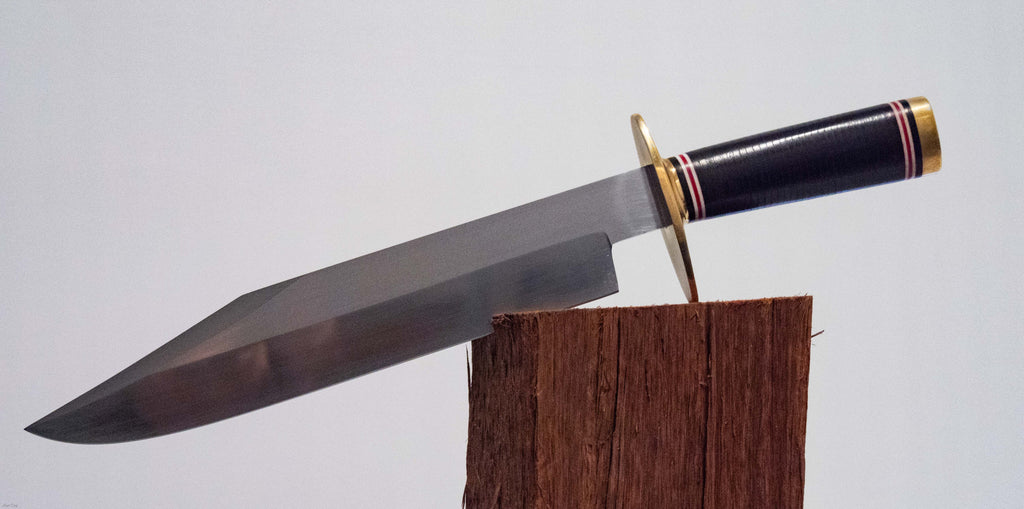 Bowie Knife large including scabbard