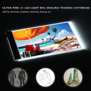 LED Light Pad/Box A4