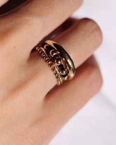 Solid Gold/Silver Vida Ring|FREEDOM COLLECTION