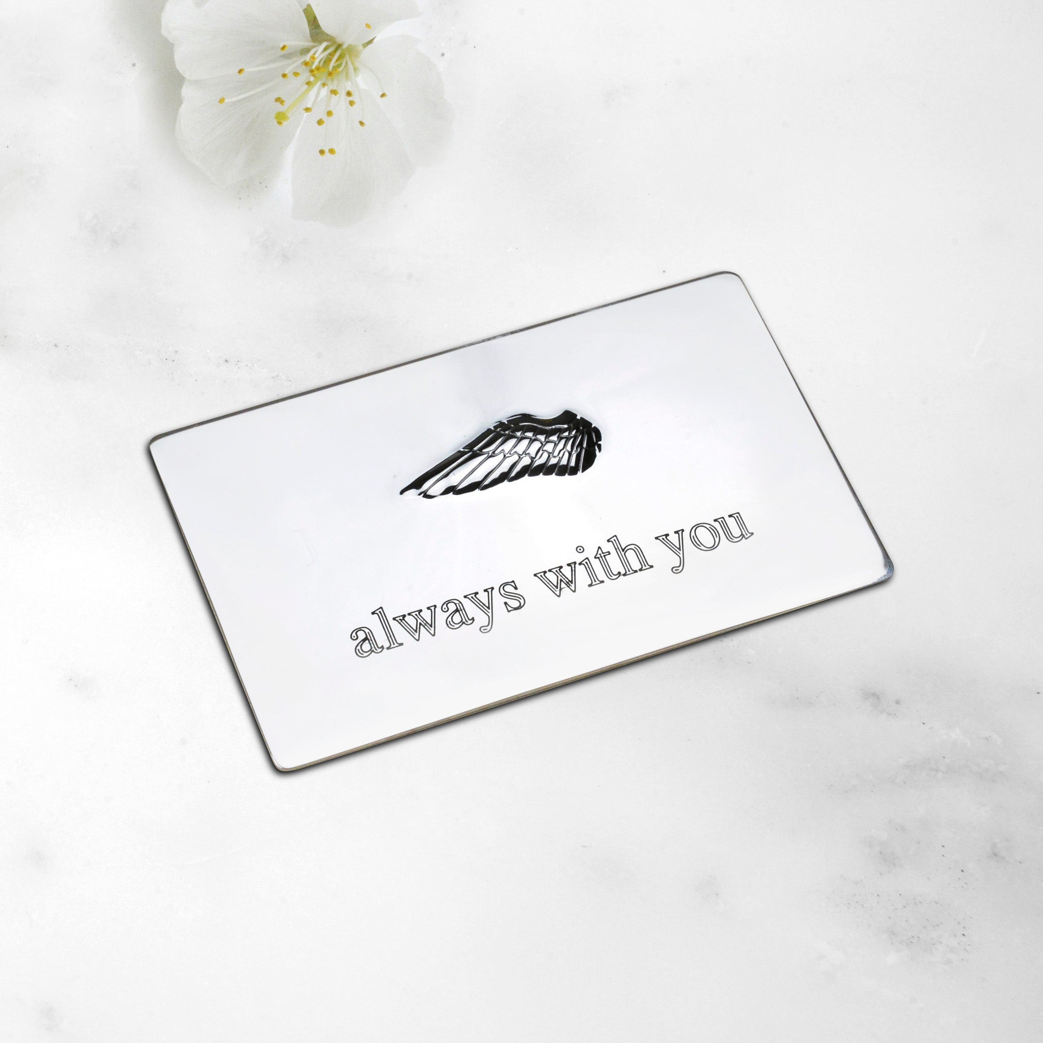 Always With You Message Plaque