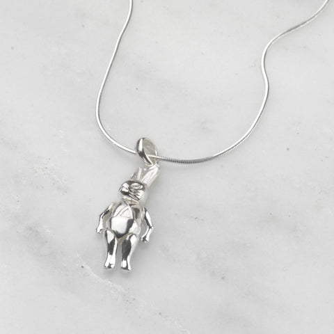 Articulated Rabbit Necklace we love mummy