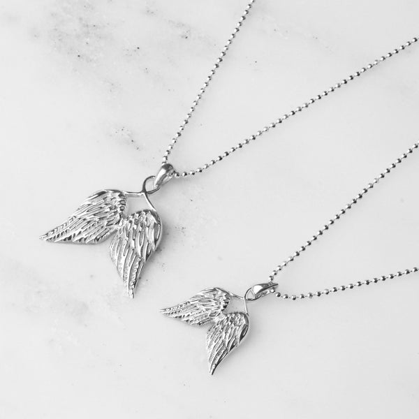 Guardian Angel Wing Necklaces