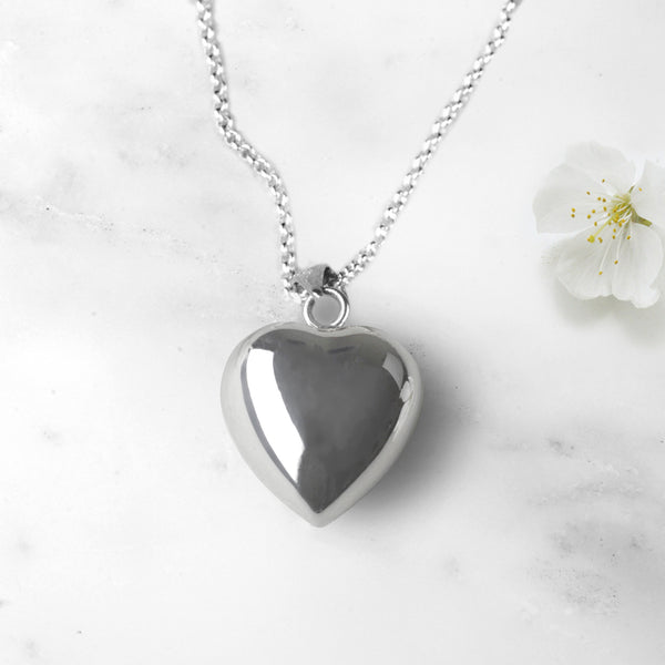 Heart Pregnancy Necklace