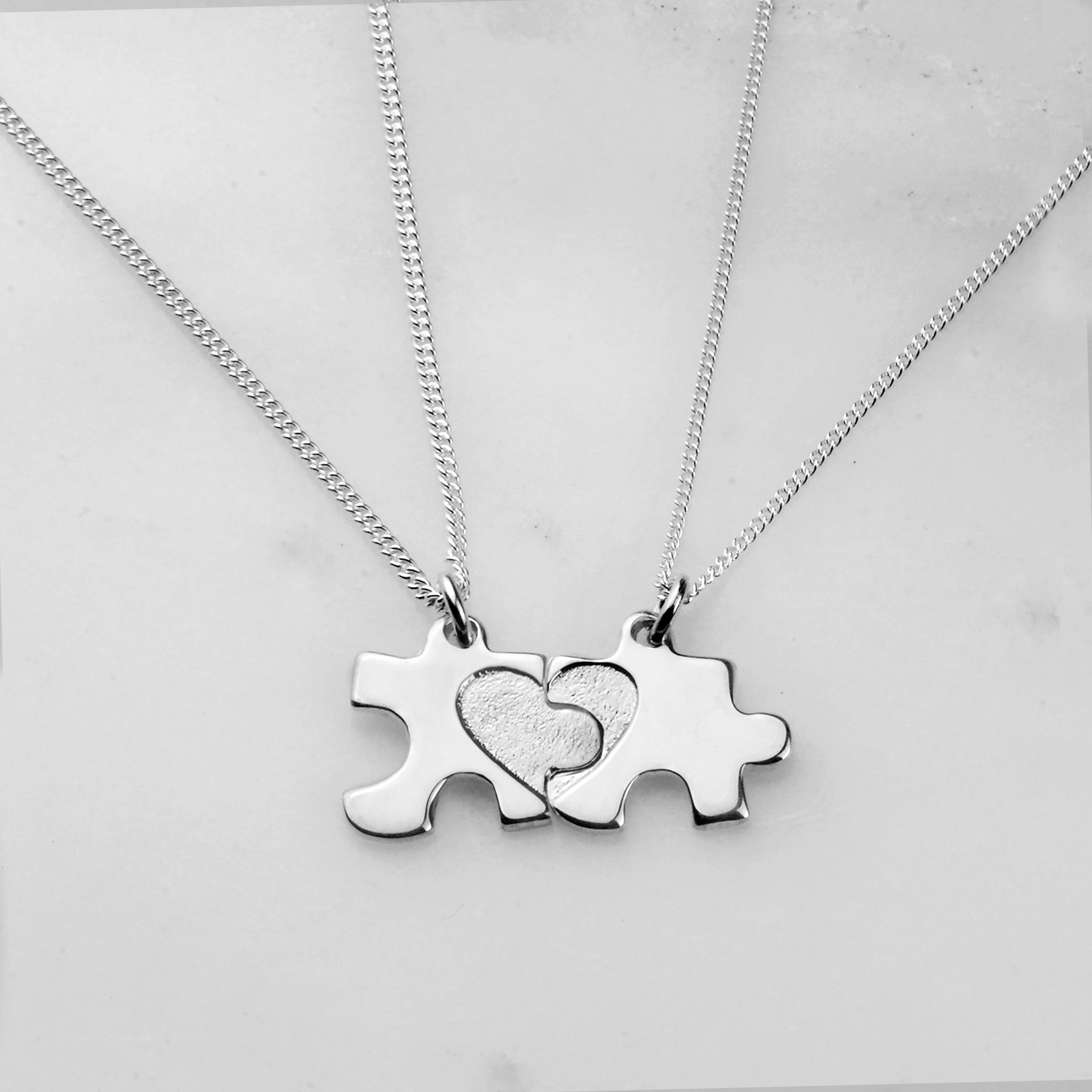 Jigsaw Necklaces