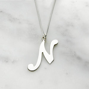 Letter Necklace (Large)