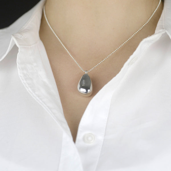 Love Chime Pebble Necklace