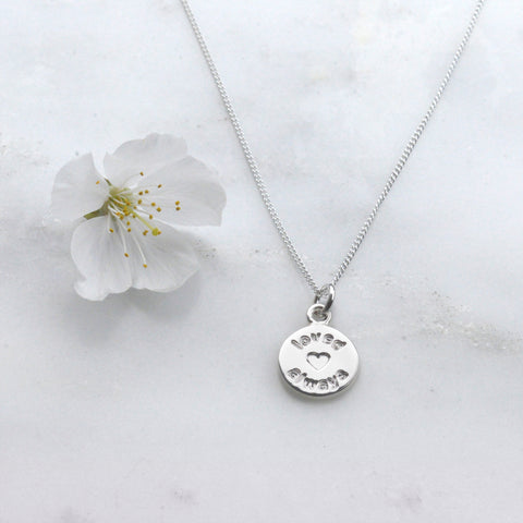 Loved Always Necklace we love mummy
