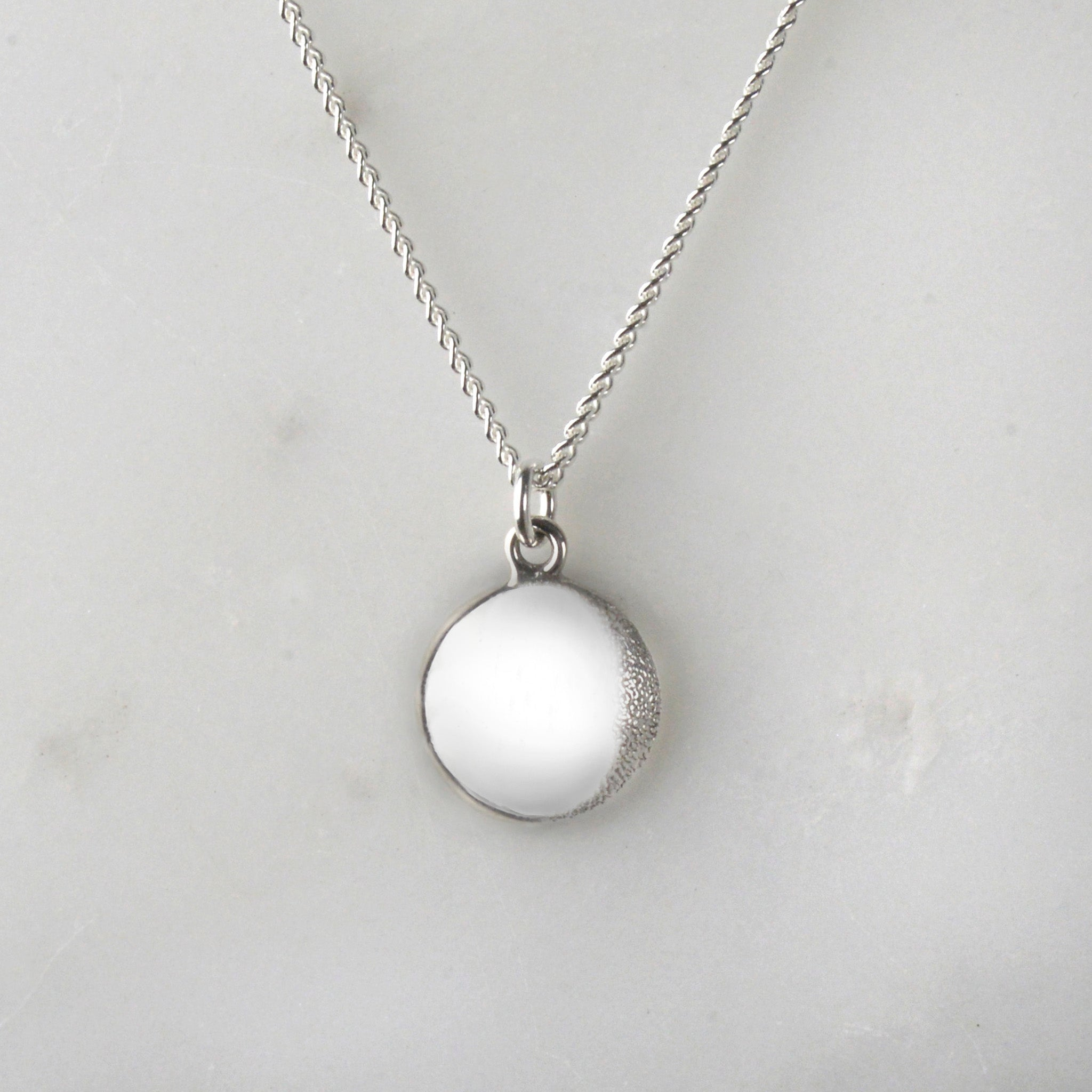 Your Moon Necklace (Waning Gibbous)