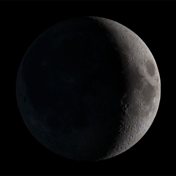 Your Moon Necklace (Waxing Crescent)