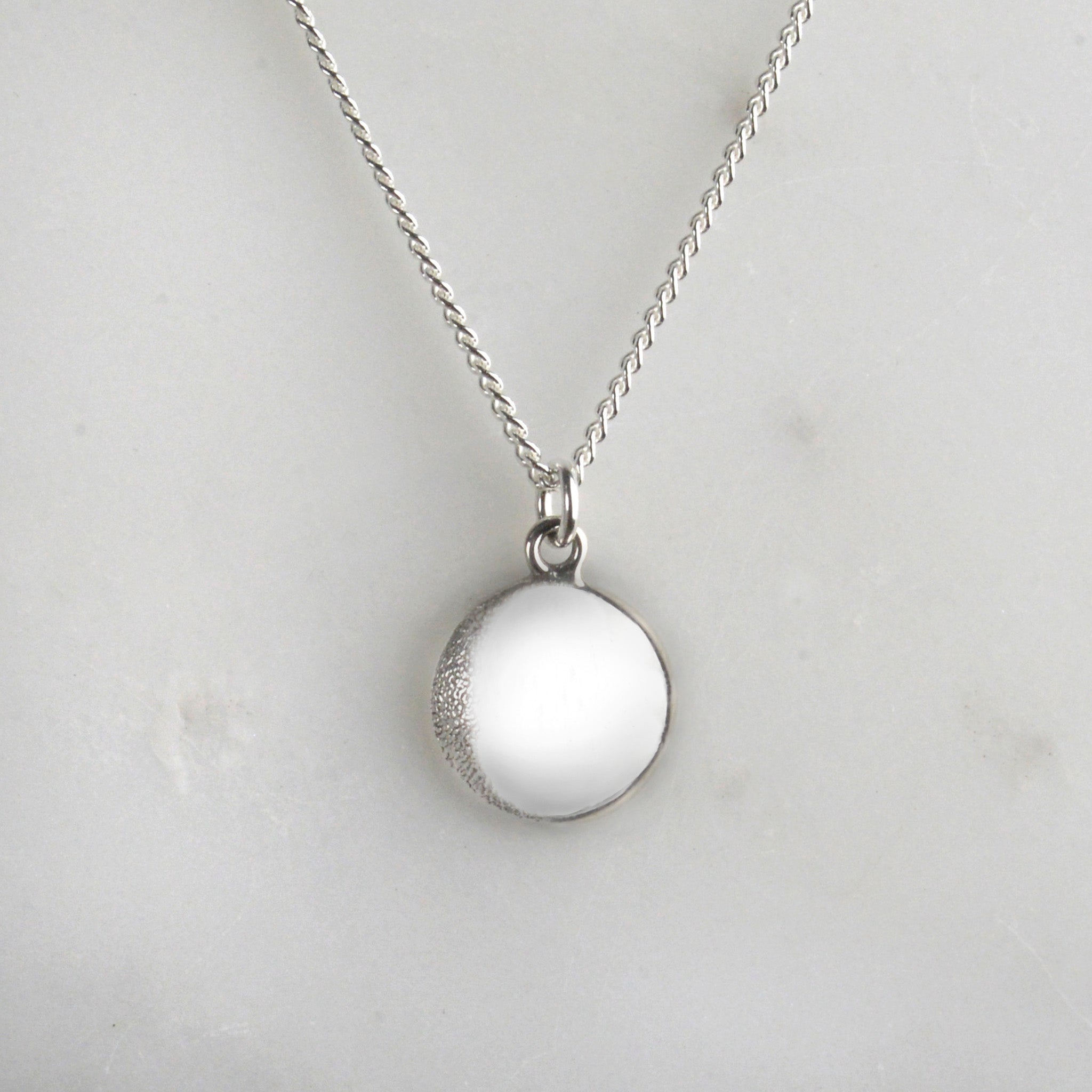 Your Moon Necklace (Waxing Gibbous)