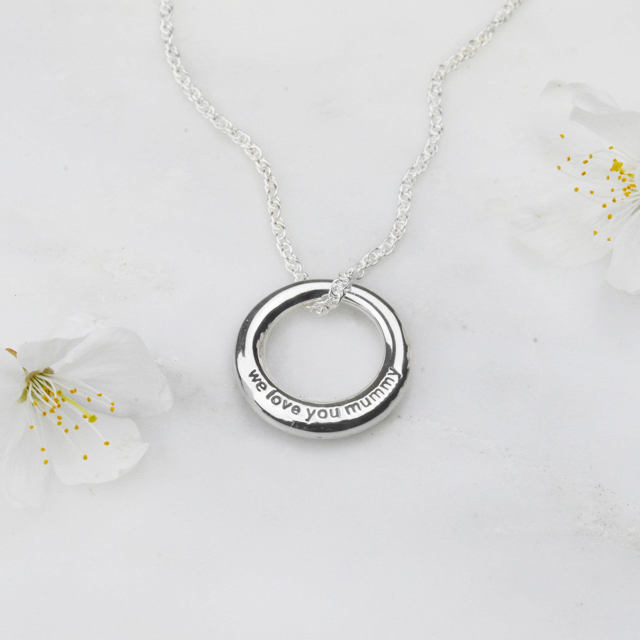 We Love You Mummy Necklace