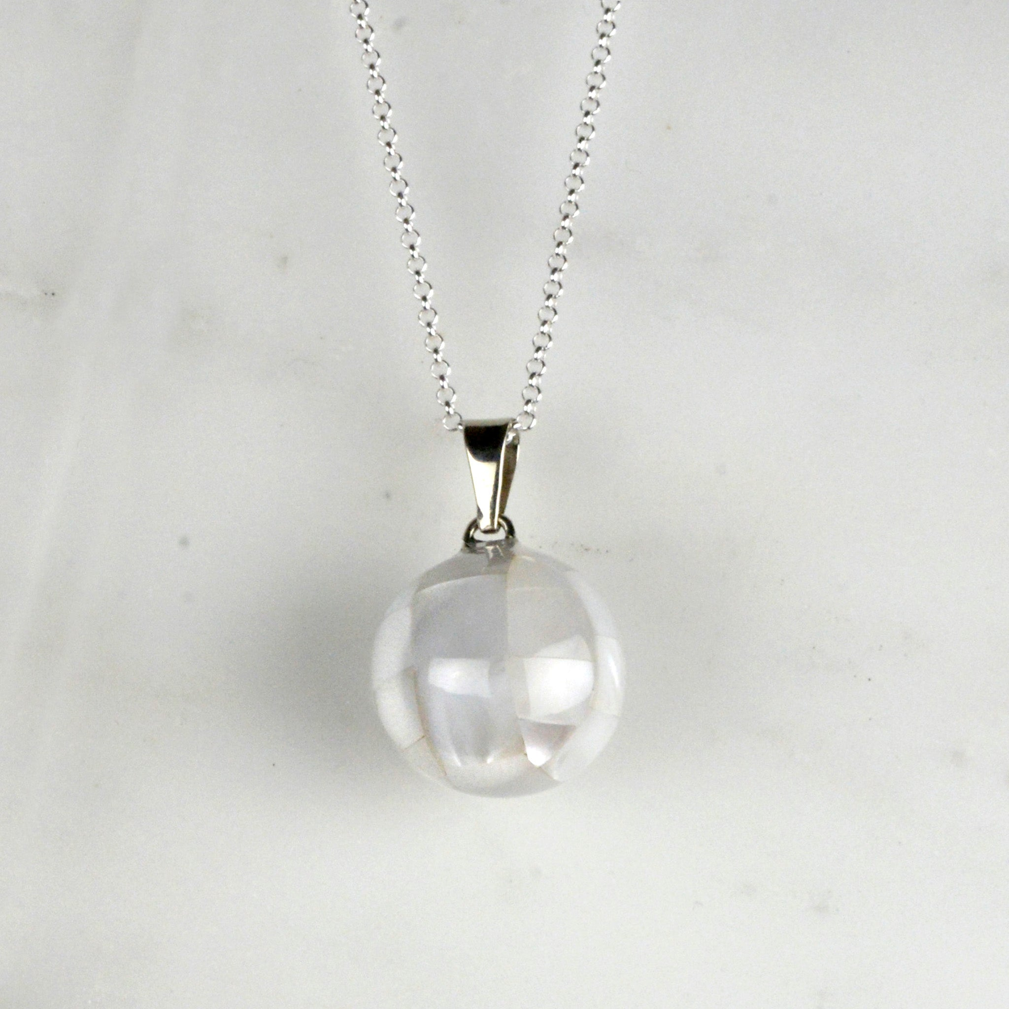 white Shell Pregnancy Necklace we love mummy