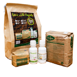ORGANIX SOIL CONDITIONERS & PESTICIDE STARTER KIT (4 PRODUCTS)