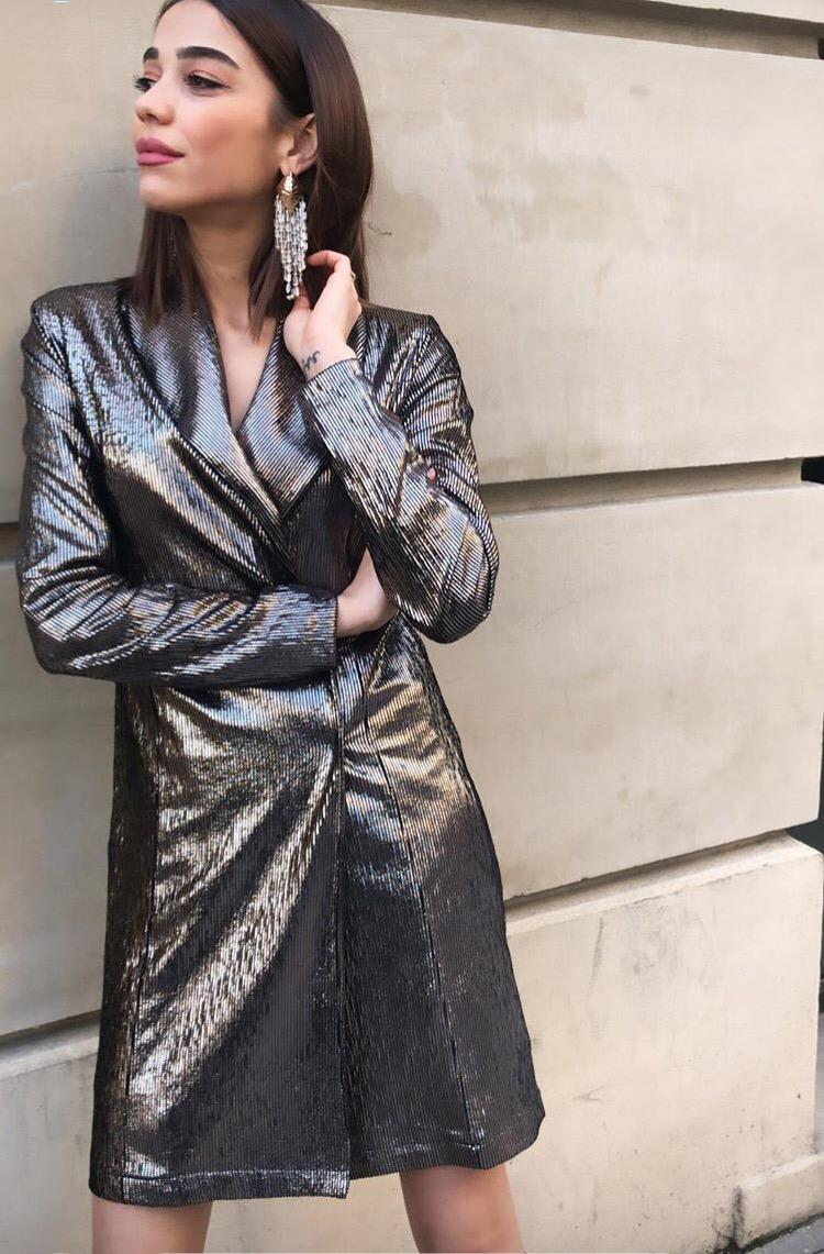 Sparkley Jacket Dress