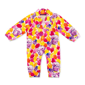Bubsie Elizabeth the Elephant Organic Cotton Baby Girls Onesie Romper