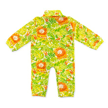 Load image into Gallery viewer, Bubsie Niles the Lion Organic Cotton Baby Boys Onesie Romper Back Side