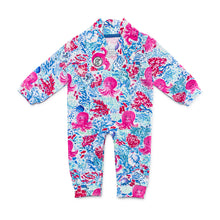 Load image into Gallery viewer, Bubsie Opal the Octopus Organic Cotton Baby Girls Onesie Romper