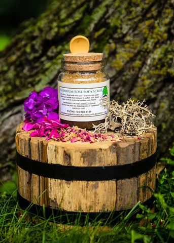 Geranium/Rose Body Scrub