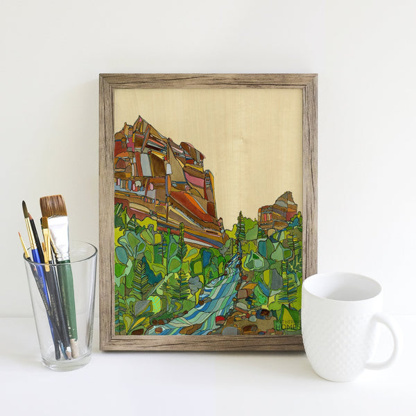 Katherine Homes Eldorado Canyon Print