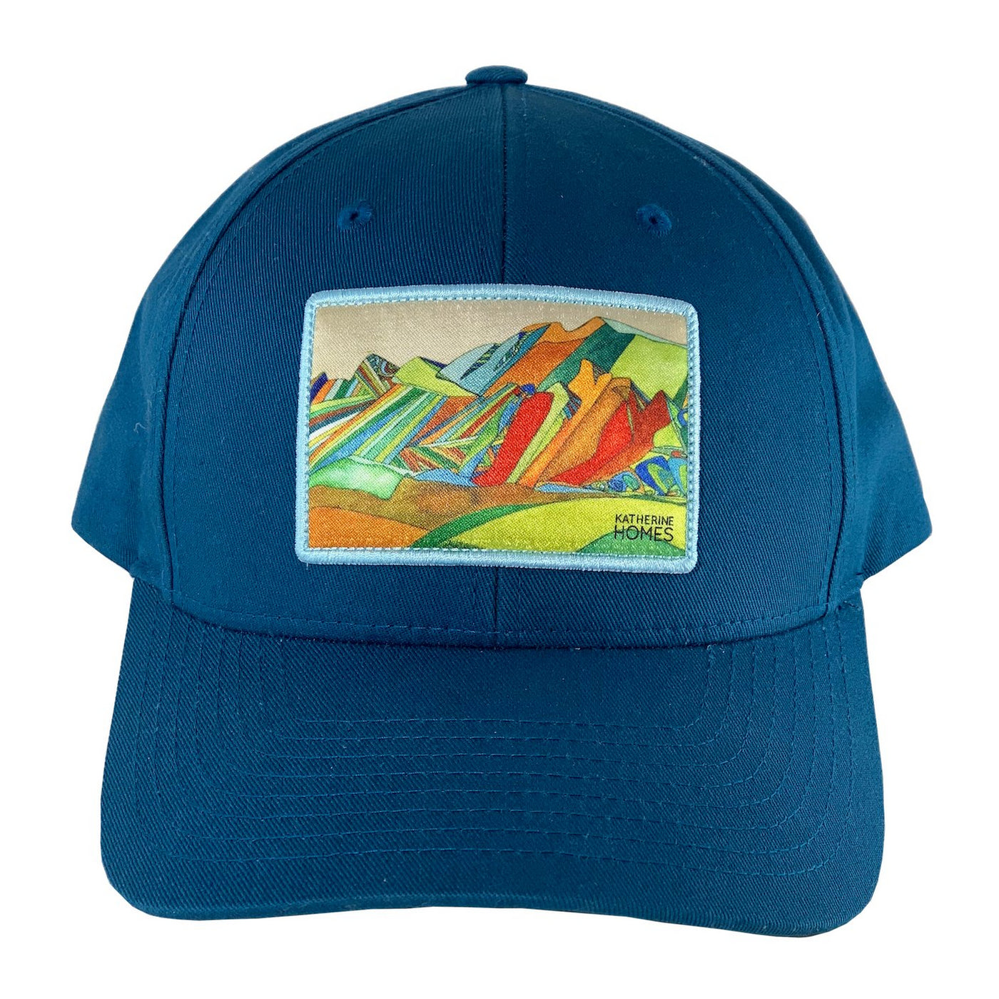Boulder Flatirons | Seaport Blue Structured Hat