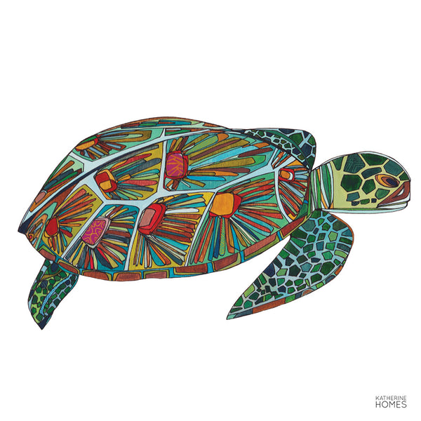 Green Sea Turtle | Print