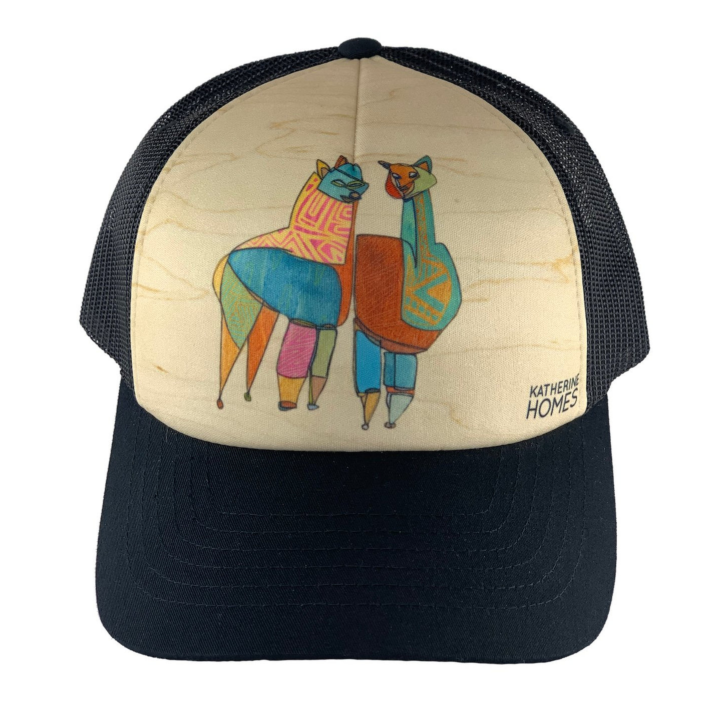 Katherine Homes Guanacos Trucker Hat | Black