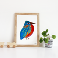 Katherine Homes Eastern Bluebird Print