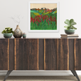 Indian Paintbrush Print by Katherine Homes