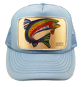 Katherine Homes Colorado Greenback Cutthroat Trout Youth Foam Trucker Hat | Baby Blue